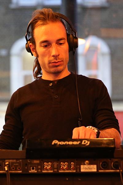 DJing portrait
